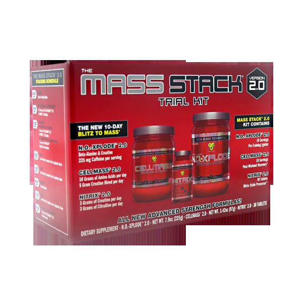 Анаболический комплекс Mass stack 2.0 на 10 дней